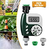 infinitoo Automatic Watering Timer Device, Timing Watering Sprinkler Controller, Waterproof LCD Display, Automatic