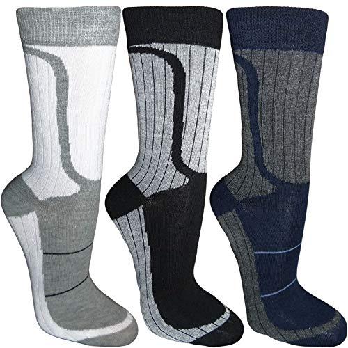 Details zu 12 Paar Herren Socken Paket Freizeit Business Sportsocken Herrensocken (Q733) (43-46)
