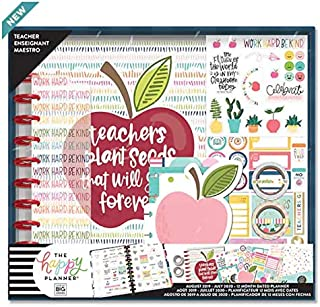 The Big Happy Planner Plant Seeds Teacher Kit August 2019 to July 2020 (12 Month)