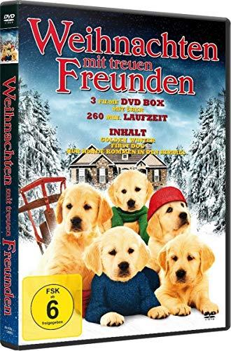 Weihnachten mit treuen Freunden - 3 Filme DVD-Box (inkl. Weihnachtsmütze)