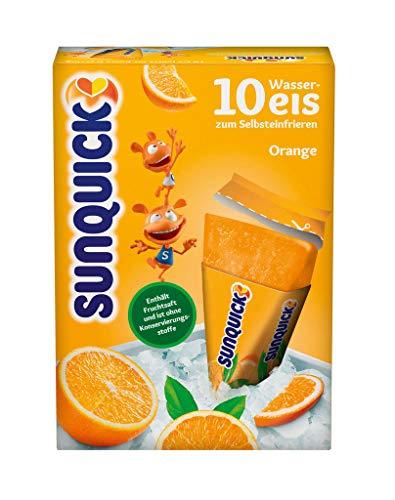 Sunquick Wassereis, Orange 10er, 650 g