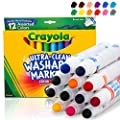Crayola 12 Ct Ultra-Clean Washable Markers from
