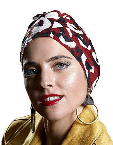 Belle Turban Safir P Pañuelo para la cabeza, Multicolor (Manchas), One Size (Tamaño del fabricante:One Size) para Mujer
