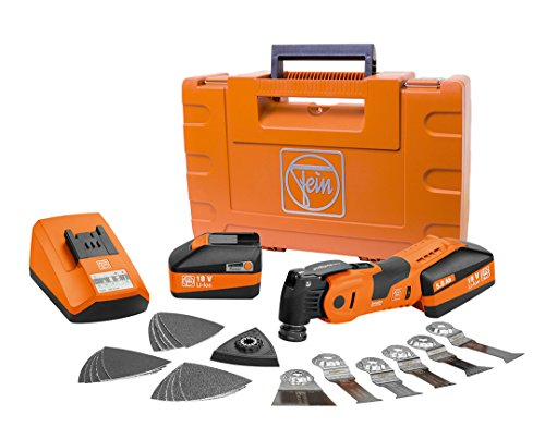 Purchase Fein 71292761090 18-Volt Cordless Oscillating Multi-Tool with Case - AFSC18QSL