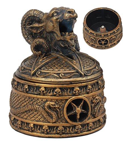 Ebros Satanic Sabbatic Goat Baphomet Backflow...