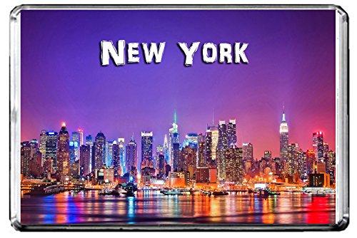 CFL E109 NEW YORK FRIDGE MAGNET USA TRAVEL PHOTO MAGNETICA CALAMITA FRIGO