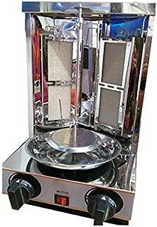 Stainless Steel Mini Doner Kebab Grill Meat Shawarma Machine Lpg Gas