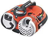 Cordless 12V battery fully charges in 4-5 hours Can inflate tires, rafts, mattresses, pool toys, athletic balls, etc Features digital gauge that measures pressure accuracy within +/- 1 PSI (pound per square inch) Quick connect hose with on-board acce...