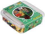 Hama Perlen 8744 Geschenkbox mit Maxi, Garten, 600 Perlen, Bunt -