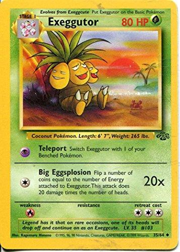 Pokemon Jungle Uncommon Card #35/64 Exeggutor