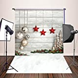 HUAYI 5x7ft Photography Backdrops Christmas Starts Background Newborn Photo Props YJ-345