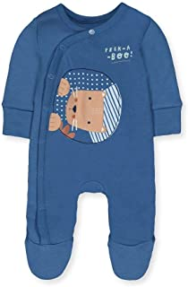 Mothercare Baby Io G Little Friends Wadded WIS Bodysuit