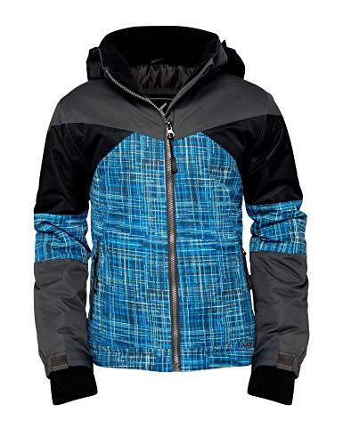 Arctix Boys Ronan Insulated Winter Jacket, Charcoal, Medium