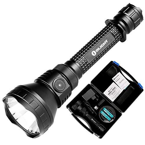 Linterna LED Potente Sólido Resistente Linterna táctica Impresionante 1200 lúmenes CREE XP-L Sorprendente rango de alta intensidad Resistente al agua - 5 AÑOS DE GARANTÍA - Olight® M3XS-UT JAVELOT