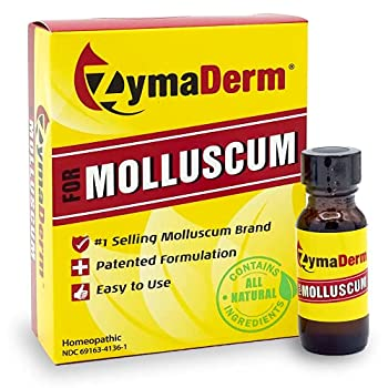 Zymaderm Molluscum Contagiosum Treatment - Fast Acting Safe and Painless Wart Reducer for Kids & Adults