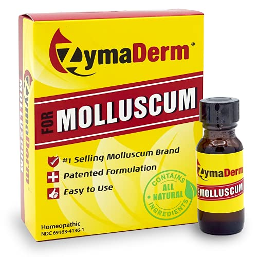Zymaderm Molluscum Contagiosum Treatment - Fast Acting, Safe and Painless Wart Reducer for Kids & Adults