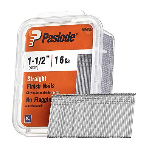 Paslode, Finishing Nail, Straight, 16 Gauge, 2,000 per Box, 1 1/2 inch