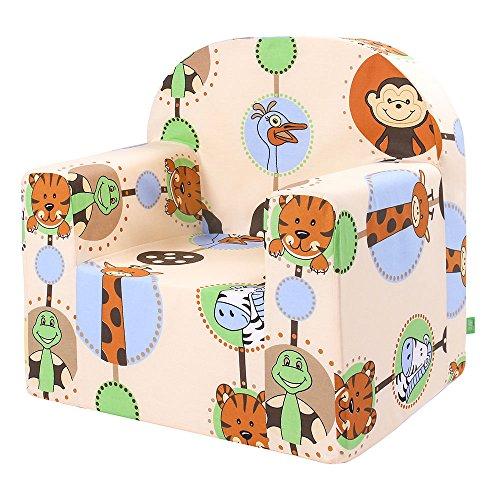LULANDO Classic Kindersessel Kindercouch für Spielzimmer und Kinderzimmer