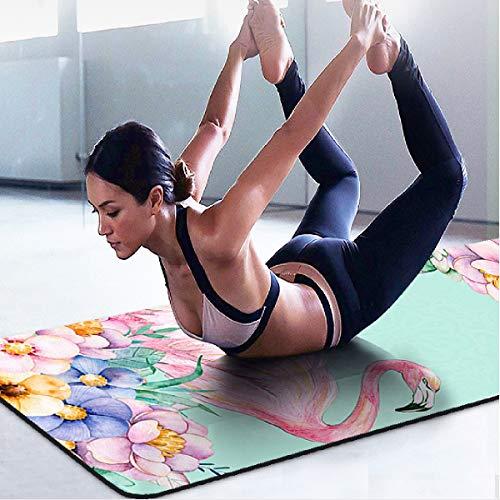 Butterfly BB Yoga Fitness Mat dünne 1.5mm professionelle tragbare Falten Anti-Rutsch-Naturkautschuk-Yoga-Matten-Frauen Handtuch Übung Yoga Decke