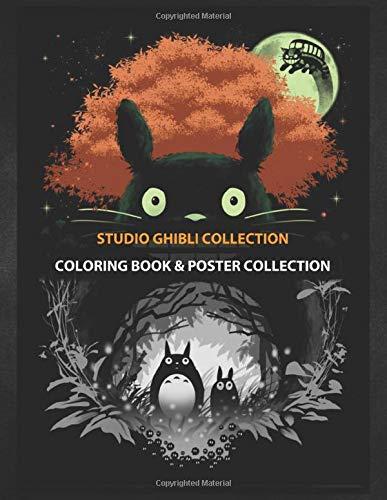 Coloring Book & Poster Collection: Studio Ghibli Collection The Neighbors Anime & Manga