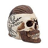 Nemesis Now Ragnar Skull 16cm Figurine Ivory, Resin