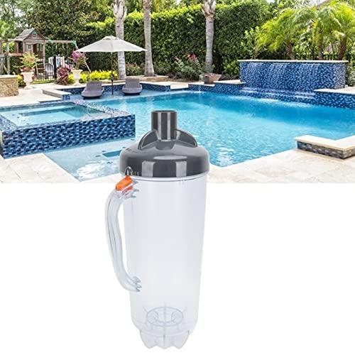 BTER Laubbehälter, Laubfangbehälter In-Line-Pool-Blattbehälter zum Auffangen von Blättern, Zweigen und anderem Schmutz für das Schwimmbad
