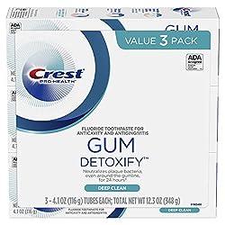 Crest Toothpaste Gum Detoxify Deep Clean