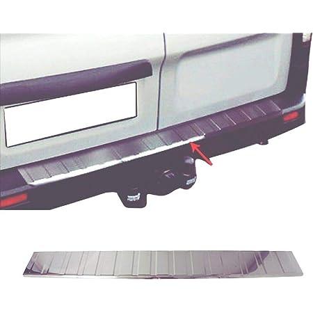 Lot de 4 seuils de porte en acier inoxydable chrom/é pour Trafic 2014-2020