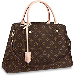 66308d12326c LLVV Women s Monogram canvas Montaigne MM Shoulder Bag