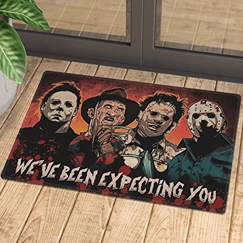 Horror Movie Characters Expecting You Doormat