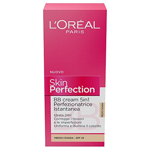 L'Oreal Revitalift Skin Perfection BB Cream SPF25 50ml Medium Clear (Medio Chiara) by Revitalift