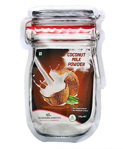 Wonderelements Coconut Milk Powder -100% Natural 150 gm (5.29 OZ )