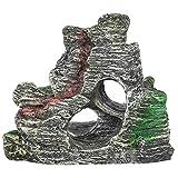 SALUTUYA Decoración de Acuario Mountain View Roeckery 504.0g para Adorno de pecera