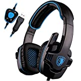 Best Sades Noise-cancelling Headphones - SADES SA901 PC Gaming Headset 7.1 Surround Sound Review
