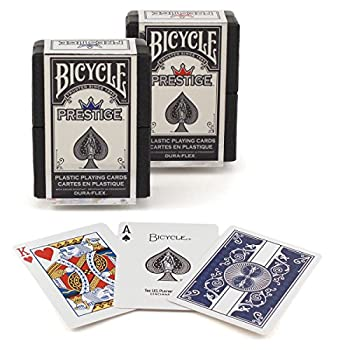 Bicycle Prestige Plastic Playing Cards  Pack of 2