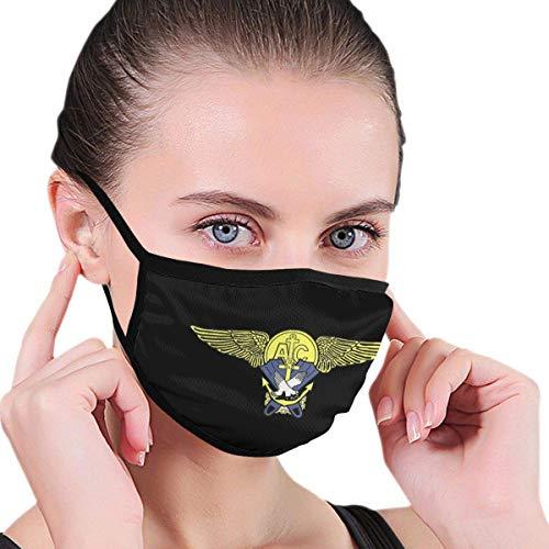 Máscara al Aire Libre de Nadador de Rescate de helicóptero USMC, filtros de carbón Activado Protectores de 5 Capas, pañuelo para Hombres y Mujeres Adultos