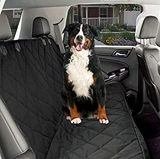CPG Dog Car Seat Covers, Dog Seat Cover for Back Seat, Waterproof Pet Car Seat Cover, Non-Slip Bench Car Seat Cover for Cars Trucks and SUVs