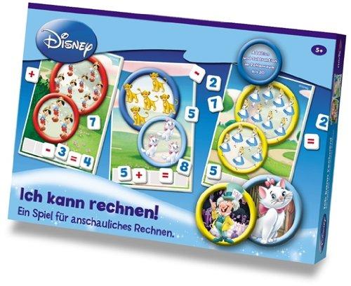 """Noris 606965751 - Disney-Lernspiel \""""Ich kann rechnen"""