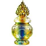JYKFJ Decoraciones de Feng Shui para el hogar Adorno de Botella Budista Tibetano, Ocho esculturas de religión auspiciosas para Acuario Mani Zen Lotus