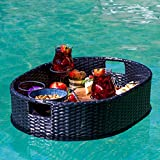 Deluxe Floating Tray for Pool - Floating Pool Tray - Stylish Breakfast Tray on The Water - Floating Bar for Pool