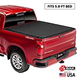 BAK Revolver X4 Hard Rolling Truck Bed Tonneau Cover | 79130 | Fits 2019-20 New Body Style GM Silverado, Sierra 1500, Will not fit Carbon Pro Bed 5'8' Bed
