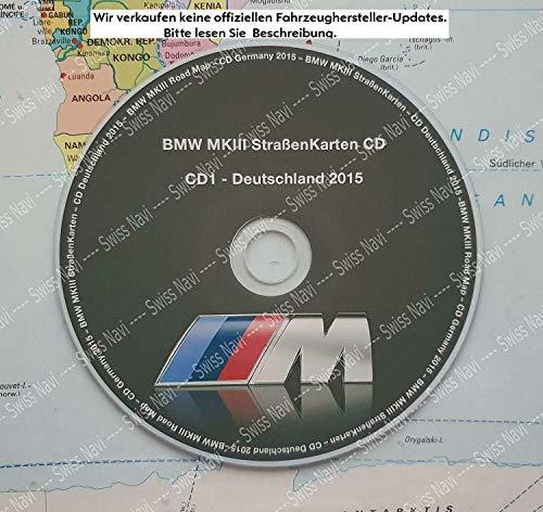 B M W MK3 CD StrassenKarten - CD Deutschland 2015 Letzte Version