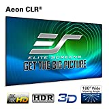 Elite Screens Aeon CLR Series, 120-inch 16:9, Edge Free Ambient Light Rejecting Fixed Frame Projector Screen, Ceiling Light Rejecting Projection Material for Ultra-Short Throw Projectors, AR120H-CLR