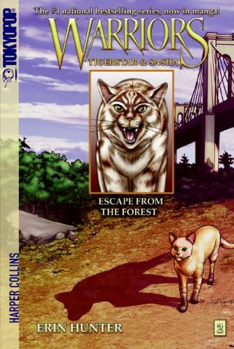 Escape from the Forest (Warriors Manga: Tigerstar & Sasha, Band 2)