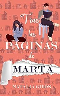 Tras las páginas de Marta par Natalia Girón Ferrer