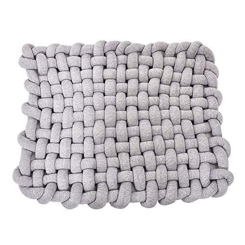 100//% coton doux Tata Home Lot de 2/taies d/'oreillers avec fermeture /Éclair lat/érale motif /à rayures 50/x 80/cm anti-acariens et hygi/énique