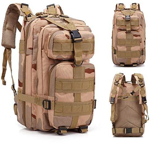 RMI Zaino tattico Army Camouflage Bag Tattico Sport all'Aria Aperta Campeggio Caccia Pack per Uomo Escursionismo Borsa da Arrampicata, San Sha
