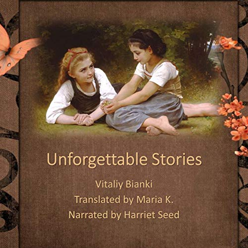 Unforgettable Stories audiobook cover art
