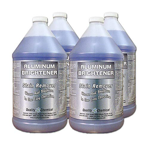 Aluminum Cleaner & Brightener & Restorer-4 Gallon case