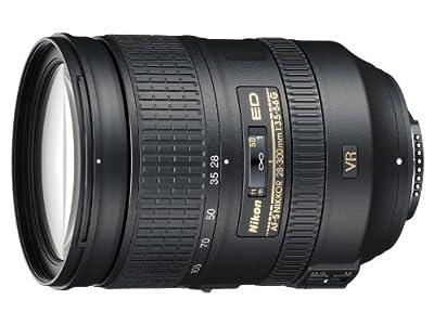Nikon 28-300mm f/3.5-5.6G ED VR AF-S Nikkor Zoom Lens for Nikon Digital SLR by Nikon